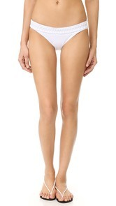 Dion Lee Laced Coil Bikini Bottoms