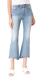 DL1961 Jackie Trimtone Cropped Flare Jeans