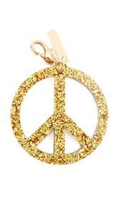 Edie Parker Peace Keychain