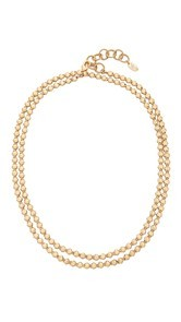 Elizabeth Cole Sheila Wrap Choker Necklace
