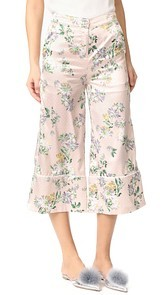 ENGLISH FACTORY Pants with Piping Detail