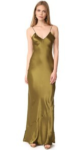 Emerson Thorpe Pipa Long Slip Dress