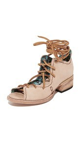 FREEBIRD by Steven Peace Lace Up Booties