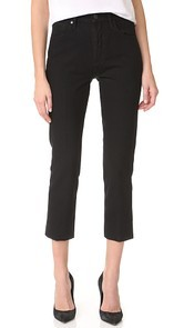 GOLDSIGN The Refit High Rise Cropped Jeans