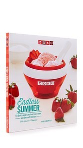 Gift Boutique Endless Summer Ice Cream Recipe Book