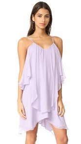 Haute Hippie Ruffle Tank Dress
