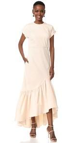 Hellessy Ravena Cap Sleeve Dress