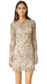 Haute Hippie Goldfinger Dress