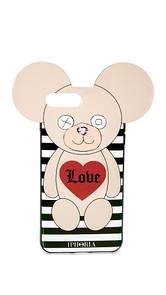 Iphoria Teddy Love Stripes iPhone 7 Plus Case