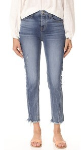 Hudson Rival Seamed High Rise Jeans