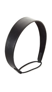 Jennifer Behr Thick Leather Headband