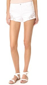 Joes Jeans Cutoff Shorts with Embroidery