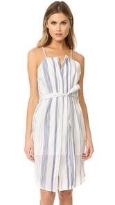 J.O.A. Stripe Button Down Sheath Dress