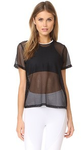KORAL ACTIVEWEAR Gridlock Size Up Tee