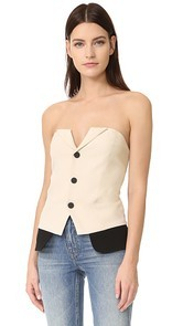 LAVEER Snap Up Tux Bustier