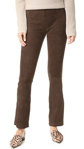 Kobi Halperin Laci Stretch Suede Pants