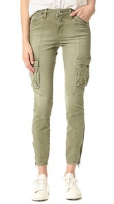 LAGENCE Montgomery Skinny Cargo Pants