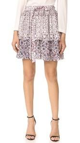 LAGENCE Rosie Tiered Ruffle Skirt