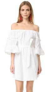 Line & Dot Celia Peasant Dress