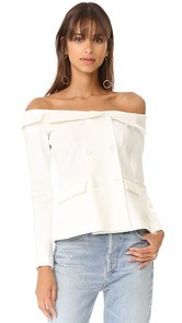 LAGENCE Stephan Off Shoulder Top