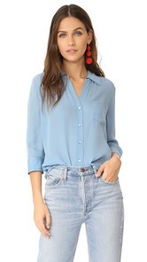LAGENCE Ryan 3/4 Sleeve Blouse