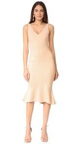 LAGENCE Lucia V Neck Dress