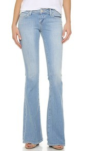 LAGENCE Elysee Low Rise Flare Jeans