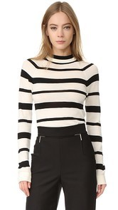 Lela Rose Long Sleeve Sweater