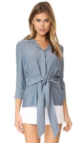 LAGENCE Colette Button Down