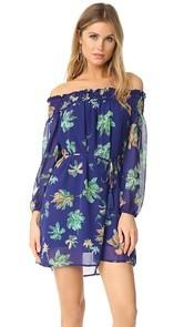 Line & Dot Riza Off Shoulder Dress