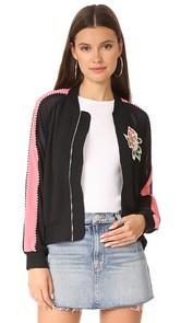 Line & Dot Celeste Track Jacket