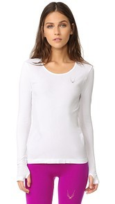 Lucas Hugh Core Technical Knit Long Sleeve Top
