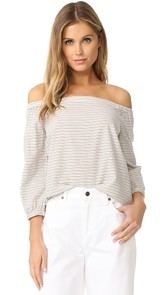 Madewell Jardin Off Shoulder Top