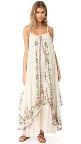 Mes Demoiselles Josephine Flora Embroidered Dress