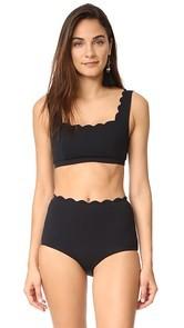 Marysia Swim Palm Springs Bikini Top