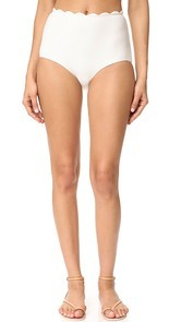 Marysia Swim Palm Springs High Waist Bikini Bottoms