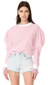 Michaela Buerger Puff Sleeves Sweatshirt