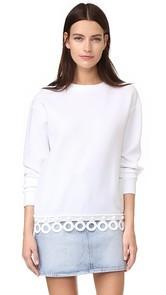 Michaela Buerger Ring on Fire Sweatshirt