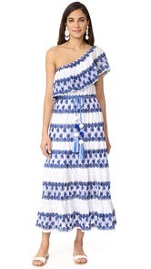 Miguelina Madeline One Shoulder Maxi Dress
