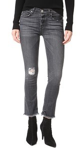 McGuire Denim Cropped Valetta Jeans with Raw Hem