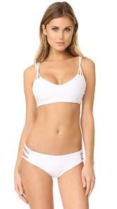 MIKOH Madrid String Bikini Top