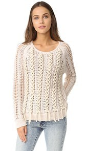 M.PATMOS Lea Laced Pullover
