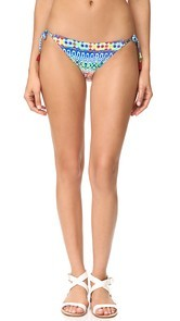 Nanette Lepore Tanzania Tile Vamp Bikini Bottoms