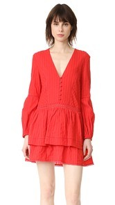 Nicholas N/Nicholas Long Sleeve Mini Dress
