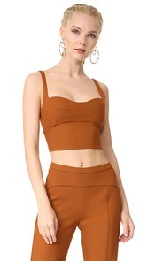 Narciso Rodriguez Sleeveless Crop Top