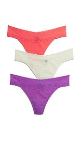 Natori Bliss Perfection Thong 3 Pack