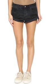 One Teaspoon Fox Black Bandits Shorts