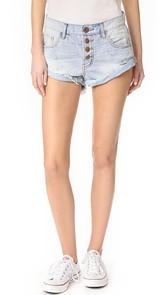 One Teaspoon Florence Bandit Shorts