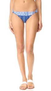 OndadeMar Turquish Banded Bikini Bottoms