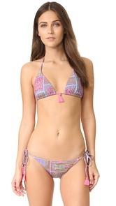 PilyQ Basic Triangle Bikini Top